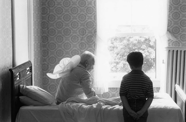 Duane Michals: Grandpa goes to Heaven