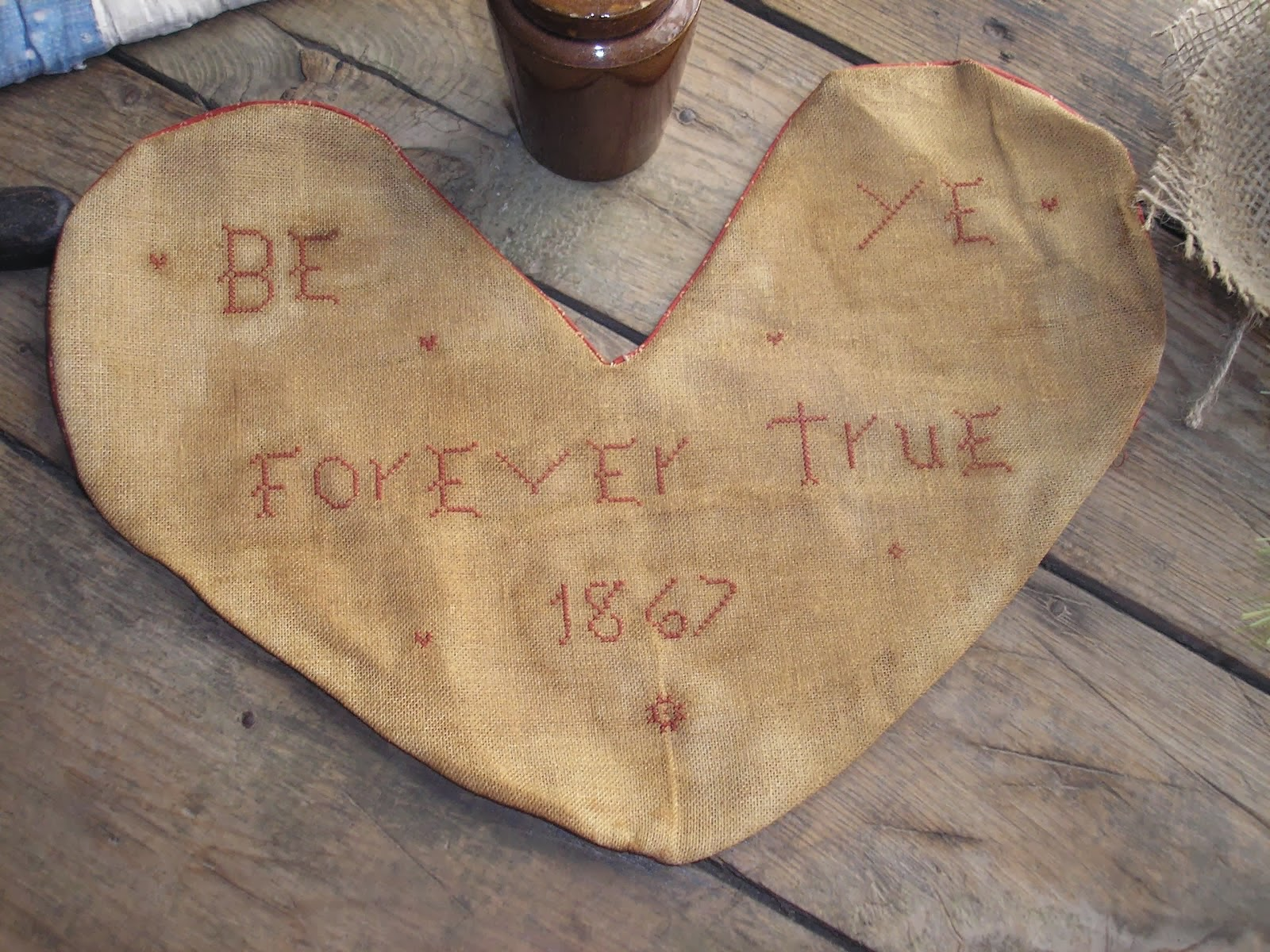 Be Ye Forever True Heart Sampler