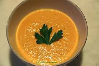 recette de velouté de carottes, economique et facile