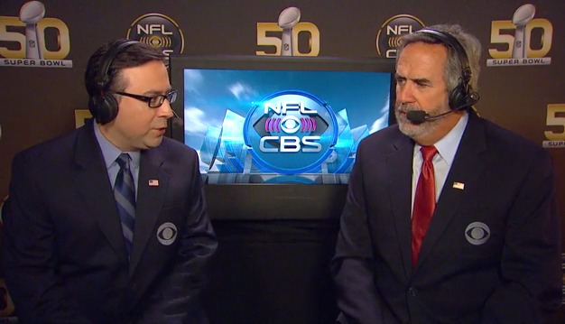 2015 NFL on CBS Announcers & Distribution: Week 9 | B-FLO 360