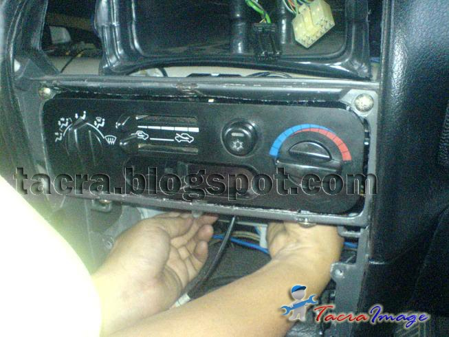 Tacra U0026 39 S Diy Garage  Manual Aircond Panel Conversion