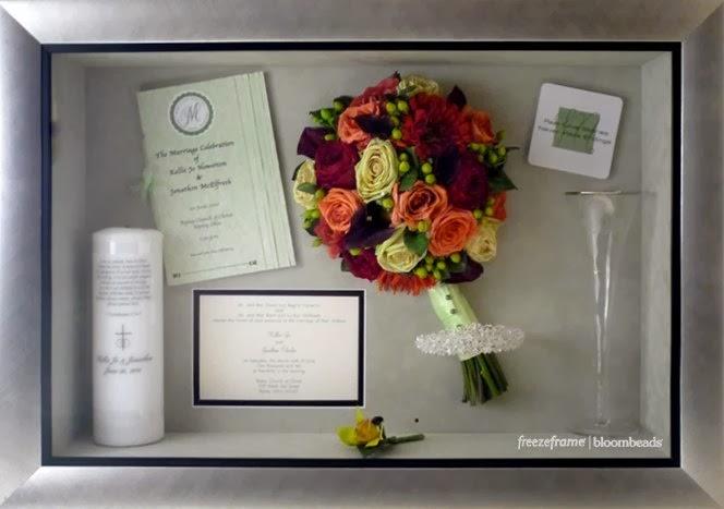 Frame Your Wedding Flowers Custom Wedding Flower Preservation