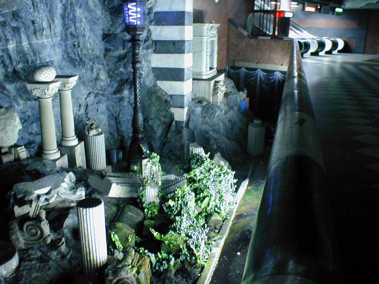 Estocolmo un metro con mucho arte my guia de viajes - Metro de estocolmo ...