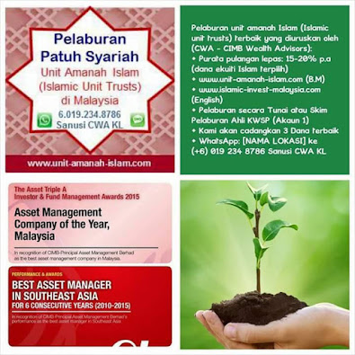 Pelaburan Unit Amanah Islam Terbaik di Malaysia