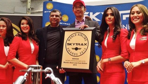 AirAsia pertahan anugerah 'Penerbangan Tambang Rendah Terbaik Dunia'