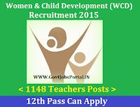 WCD Recruitment 2015