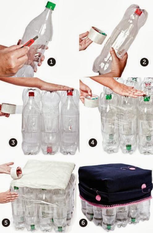 Muebles con botellas descartables 20170725020636 for Muebles con cosas recicladas