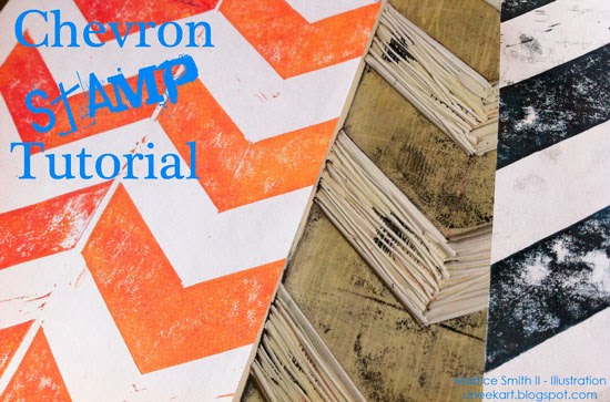 TUTORIAL:: Chevron Stamp by Martice Smith II