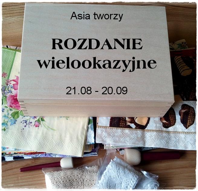 http://roznosci-z-codziennosci.blogspot.com/2014/08/rozdanie-wielookazyjne.html