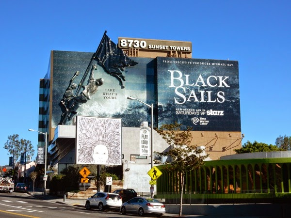 Special Black Sails season 2 billboard