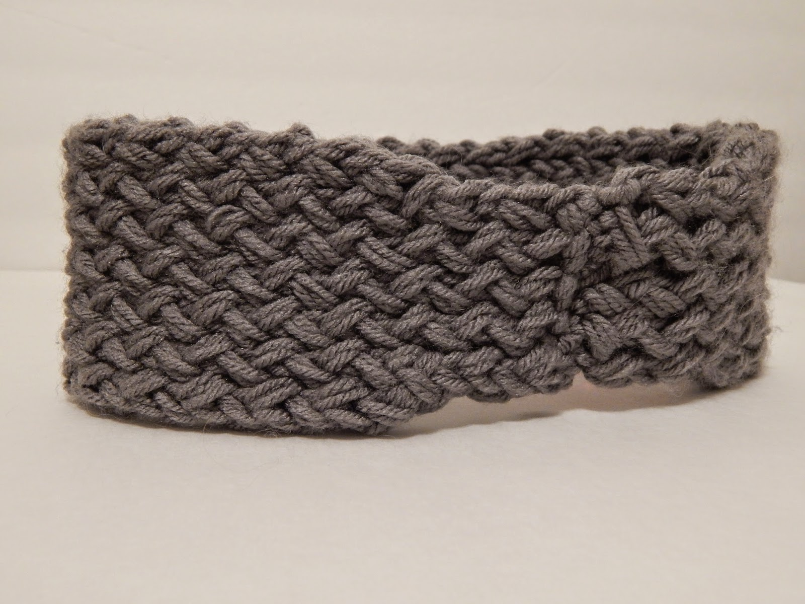 Loom Knitting Pattern Headband : Jovial Knits: Loom Knit Reversible Super Chunky Headband