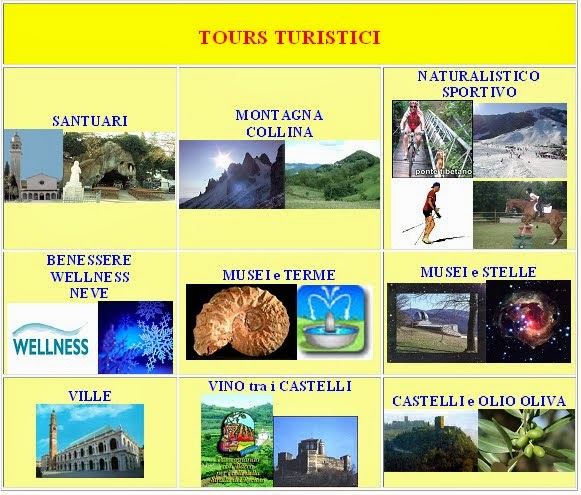 ITINERARI - TOURS