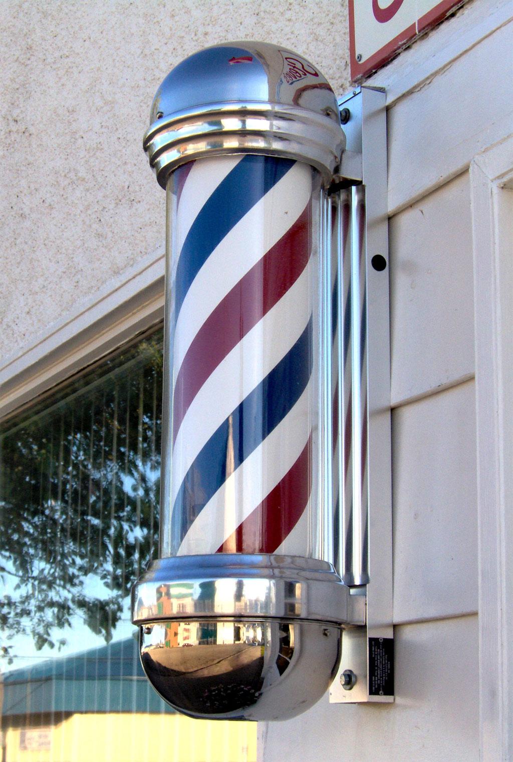 Vintage Barbershop Barber Necklace...