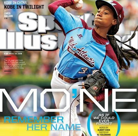Mo'ne Davis Baseball Player Made The Front Page Of Sports Illustrated