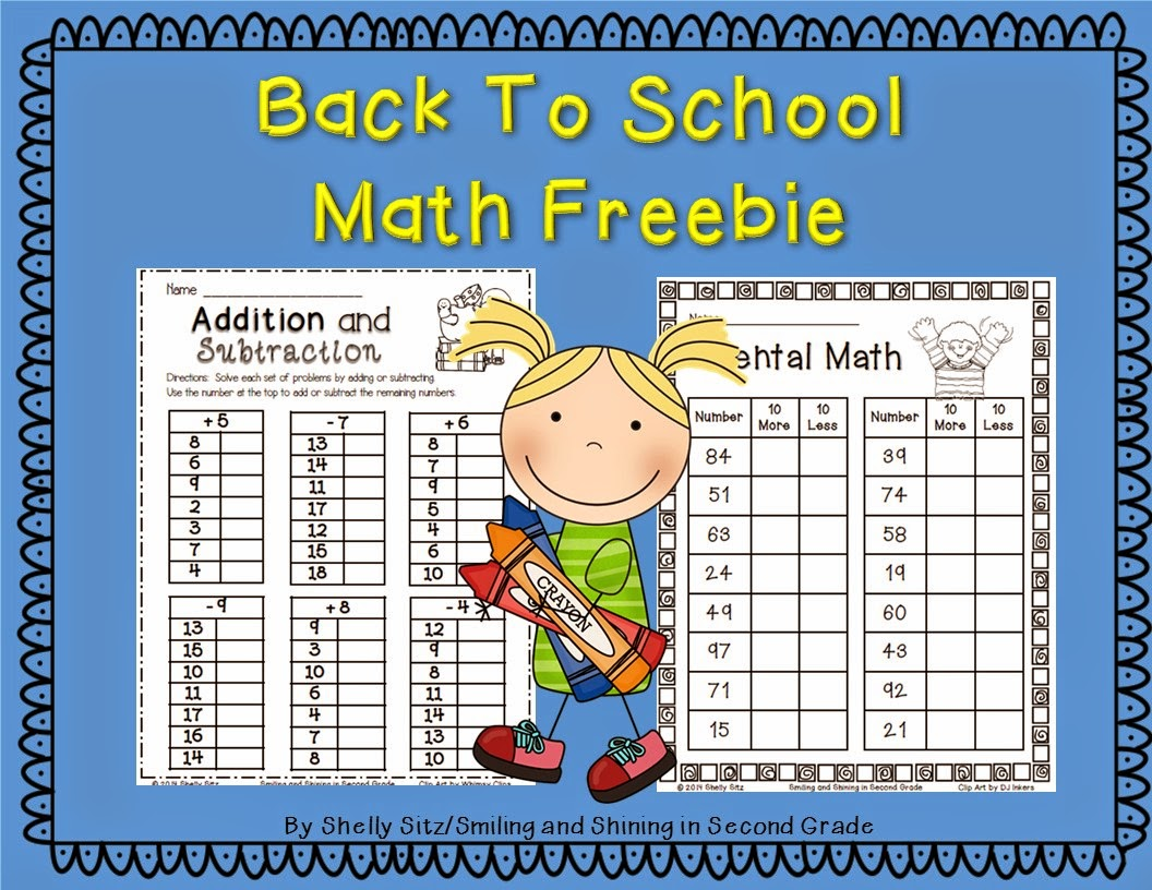 http://www.teacherspayteachers.com/Product/Back-to-School-Math-1308779