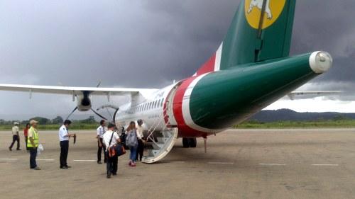 Avión en Myanmar