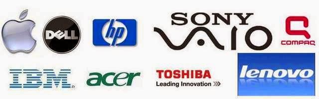 Logos y marcas de notebooks