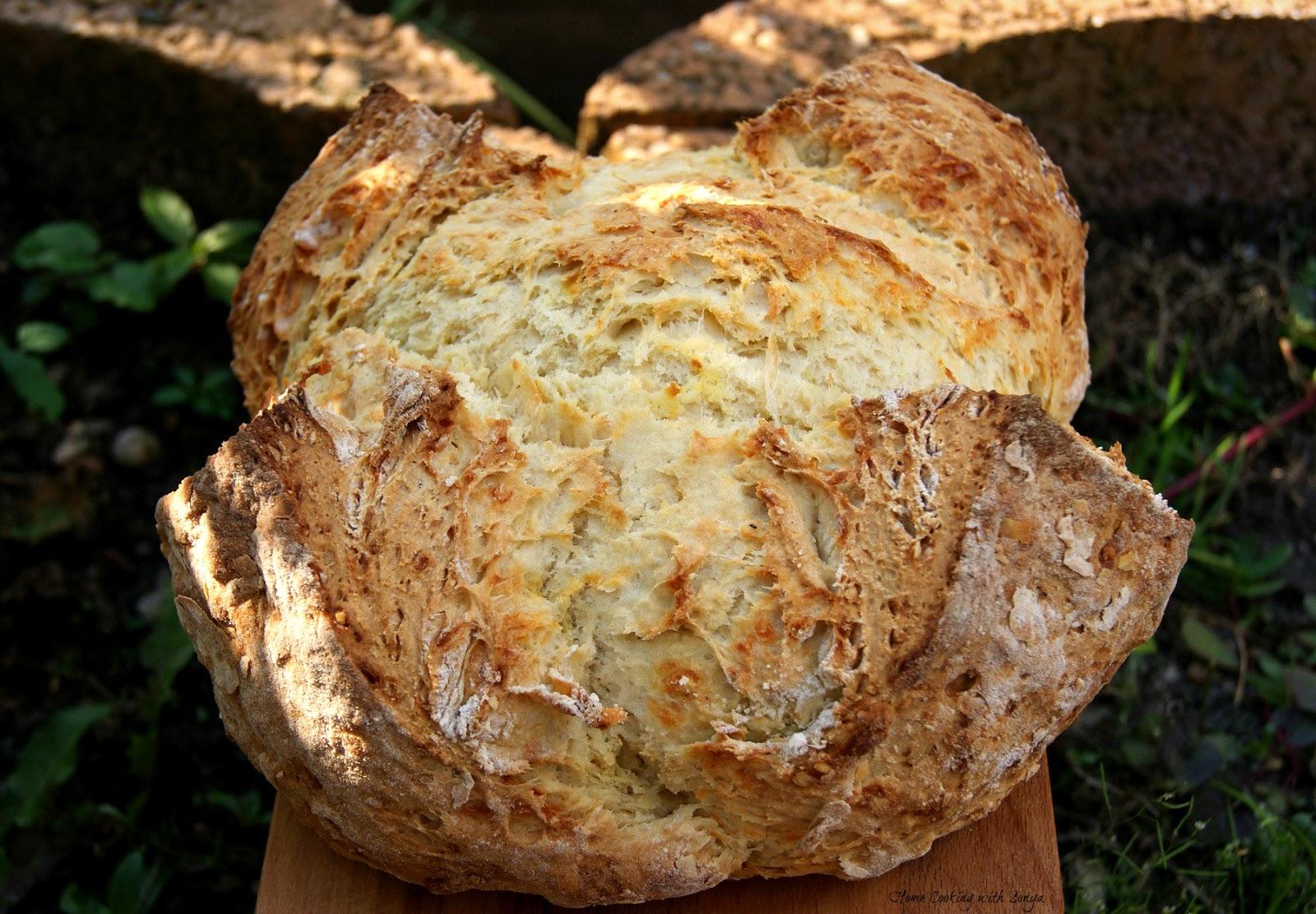 spelt soda bread