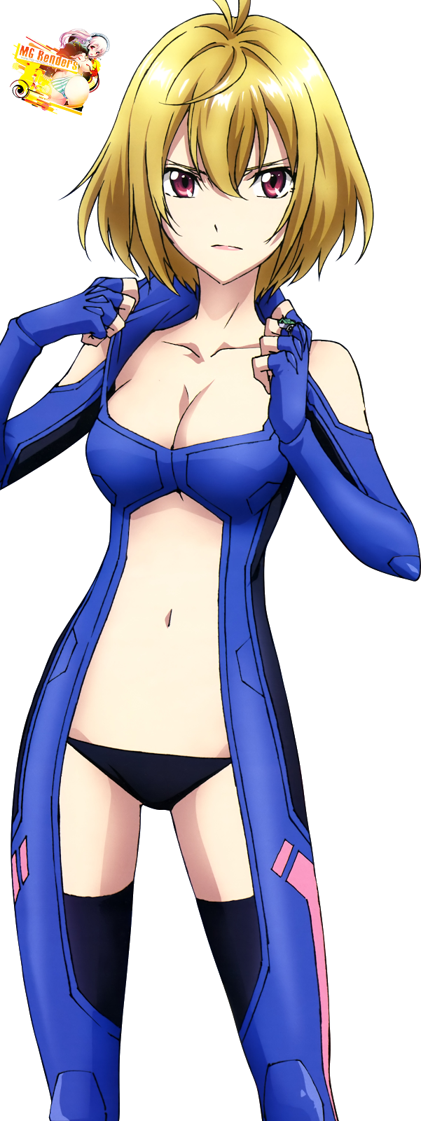 Tags: Anime, Render,  Angelise Ikaruga Misurugi,  Cross Ange,  PNG, Image, Picture
