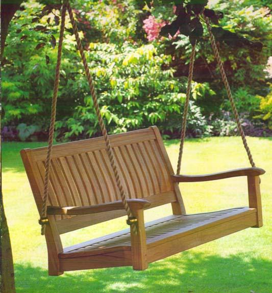 All Things Cedar Teak Furniture Swing