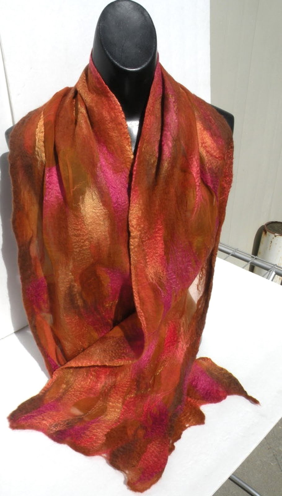 half and half silk with merino