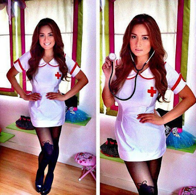 ehra madrigal, pinay, nurse, sexy