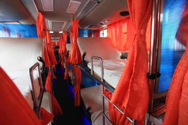 Isarog Lines Sleeper Bus S1 Naga City Deck