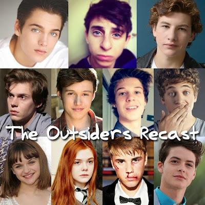 Recast: The Outsiders 映画『アウトサイダー』を勝手にキャスティング
