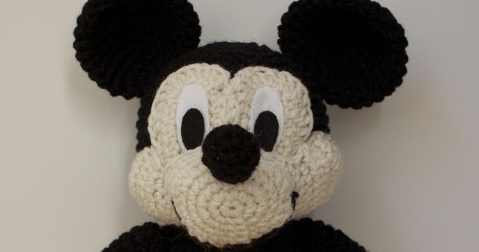 Handmade By Meg K Crocheted Mickey Mouse Pattern Review