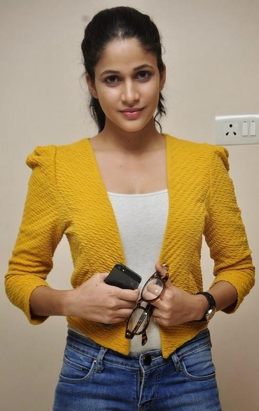 Lavanya Tripathi In Yellow Top New Stills