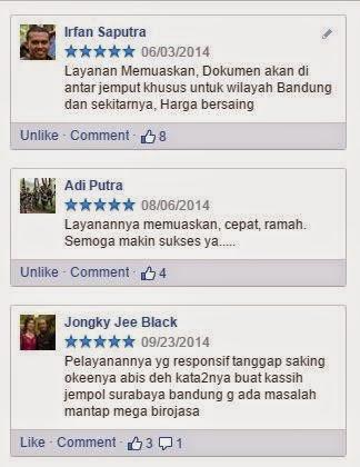 Mega-Biro Jasa-Testimoni Klien Mega-Biro Jasa