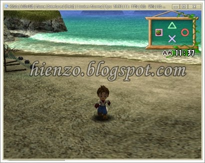 Harvest moon ps2 screenshot 1
