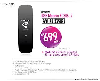 Tentang USB Modem Rev.B Smartfren EC306-2 dan AC2791