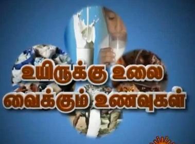 Sun News Vivatha Medai – Deadly Adulteration And Slow Poisoning – மெதுவாய் கொல்லும் விஷமாகிறதா கலப்பட உணவுகள் ?