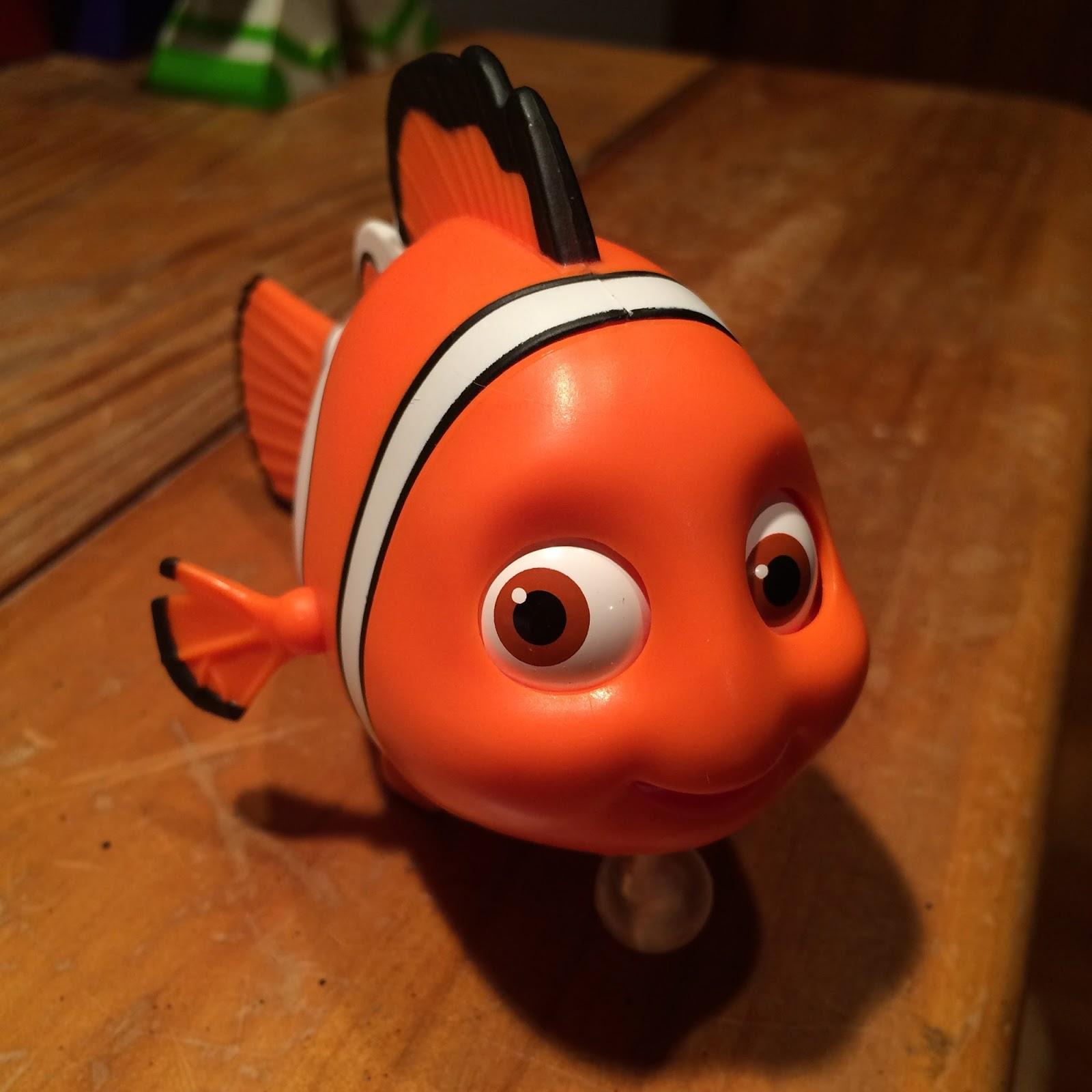 Finding Nemo Toys : Dan the pixar fan finding nemo thinkway toys figure