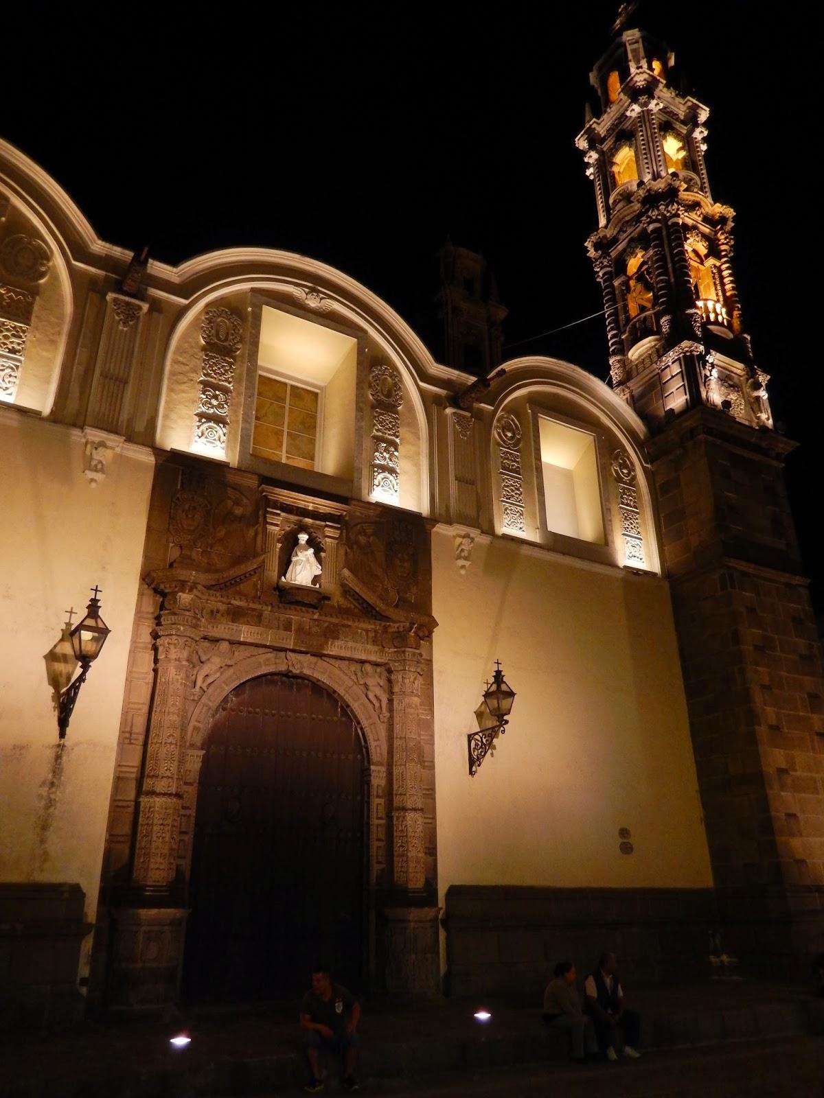Iglesia, puebla, mexico