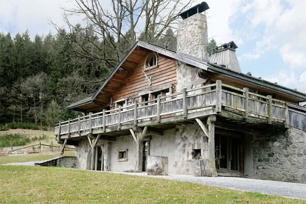 Estilo rustico casa rustica de montana - Apartamentos de montana ...