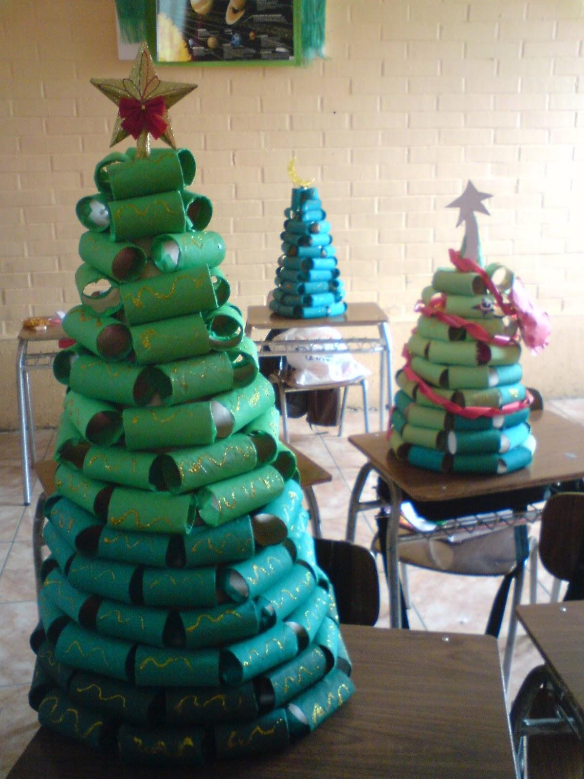 Menta m s chocolate recursos y actividades para - Arboles de navidad diferentes ...