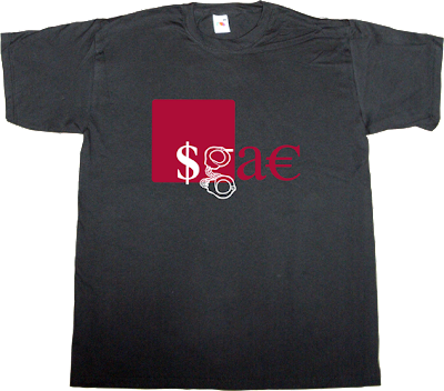 $GA€ sgae justice t-shirt ephemeral-t-shirts