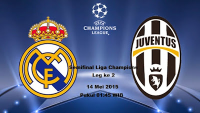 semifinal champions 2015: real madrid vs juventus