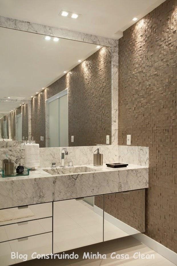 decoracao banheiro clean : decoracao banheiro clean:Construindo Minha Casa Clean: Casa Maravilhosa! Fachada e Interior