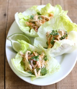 easy asian chicken lettuce wraps recipe
