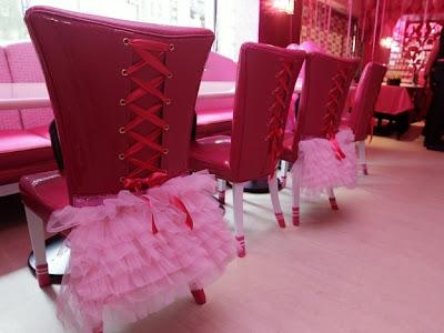 Croquinambourg - Restaurant Barbie et son décor