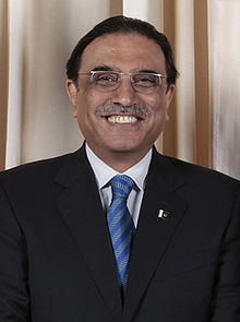 Asif Ali Zardari, President, Islamic Republic of Pakistan