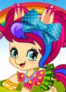 Пони малышка - Онлайн игра для девочек