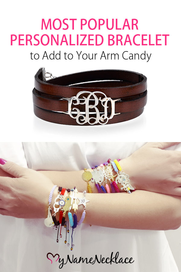 Most Popular Personalized Bracelet