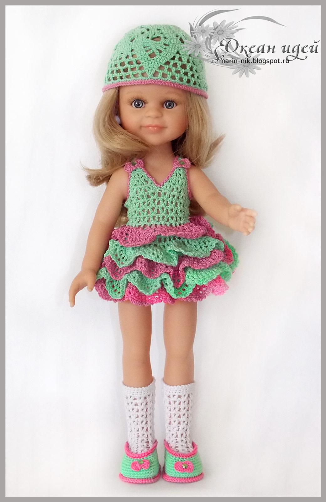Одежда для кукол паола своими руками фото 76