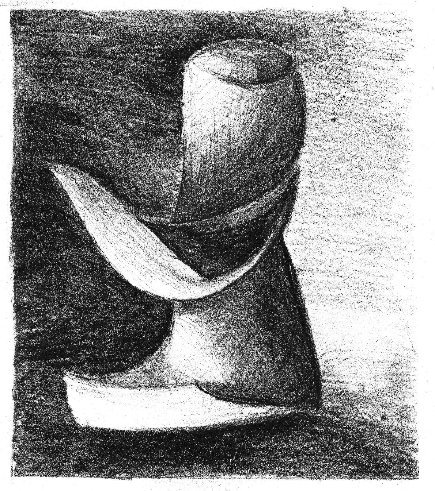 de dibujo artstico y color Sombreado a partir de un dibujo de