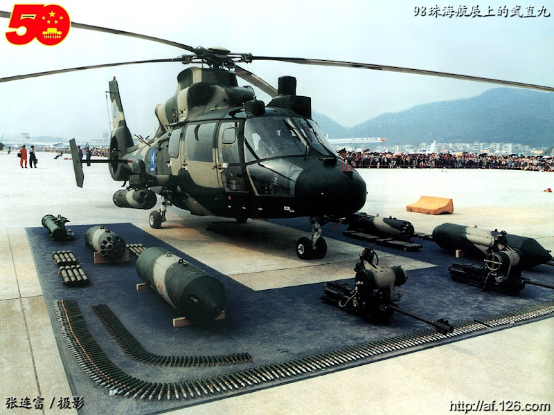 WZ-9 PLA Attack Helicopter