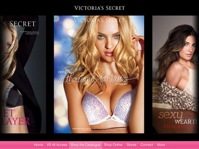 Victoria's Secret iPad app released